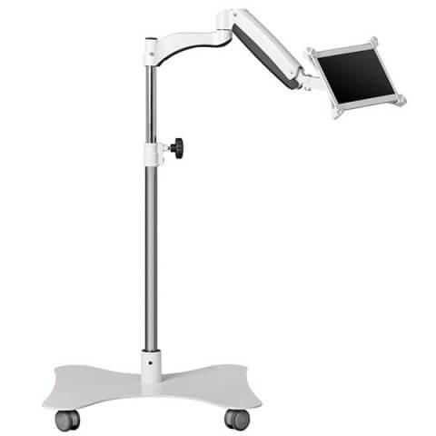 med-tcart-rolling-secure-tablet-cart-01-low-position-up-tilt-long-shot-white-0059