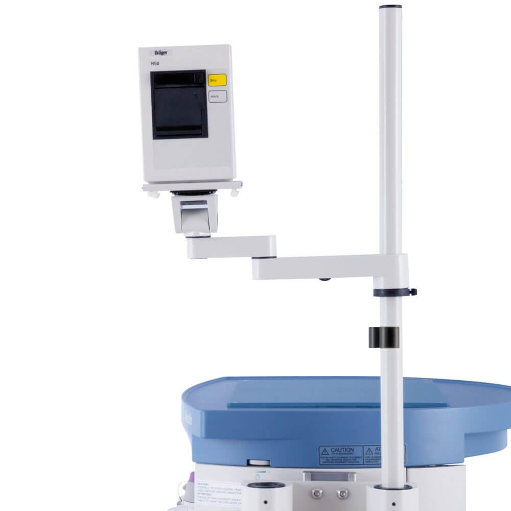Draeger R50n Printer Arm For Medical Pole Mount Ergotect