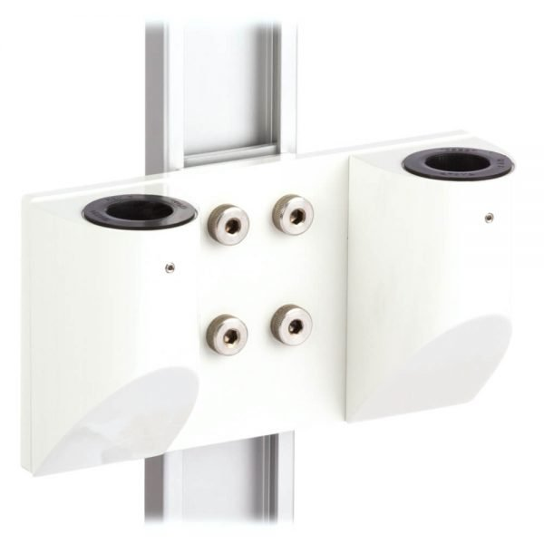 mtmar-118d1-dual-medical-arm-pole-mount-recessed-track