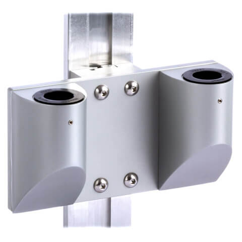 mtmd-118d1-dual-dovetail-mount-medical-wall-side-gray