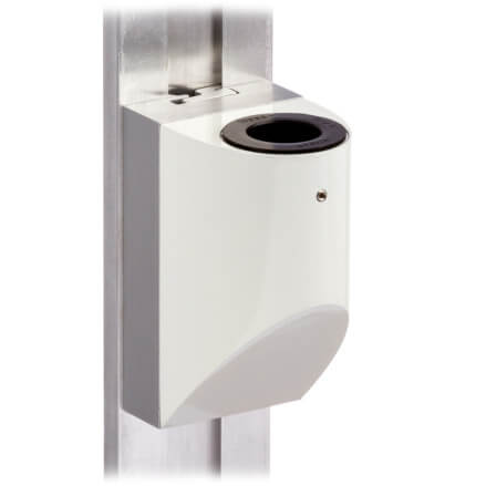 mtmd-118s1-single-medical-mount-dovetail-track-wall-side-white