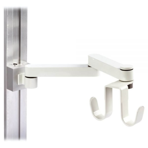 mtmd-75s1-dovetail-track-mount-light-duty-arm-wall-cable-hook-side-white